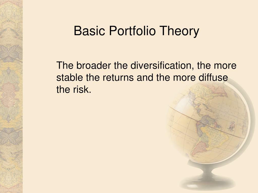 Basic Portfolio Theory