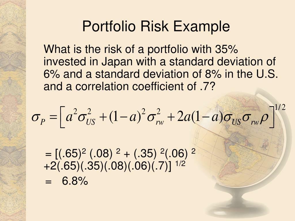 Portfolio Risk Example