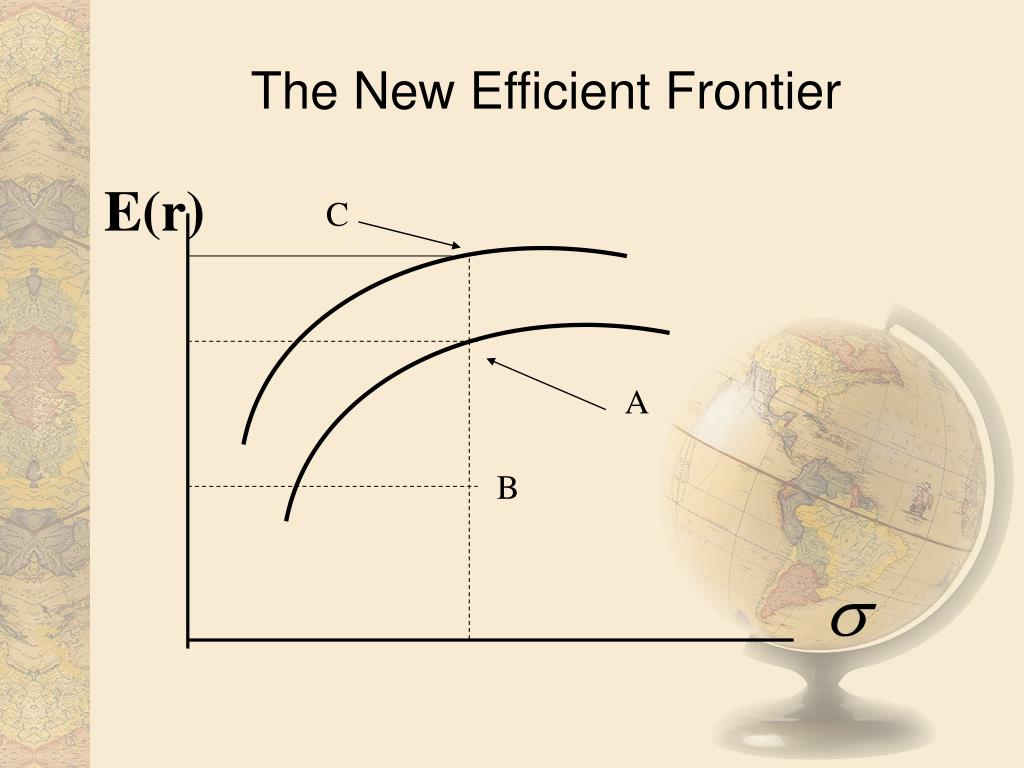 The New Efficient Frontier