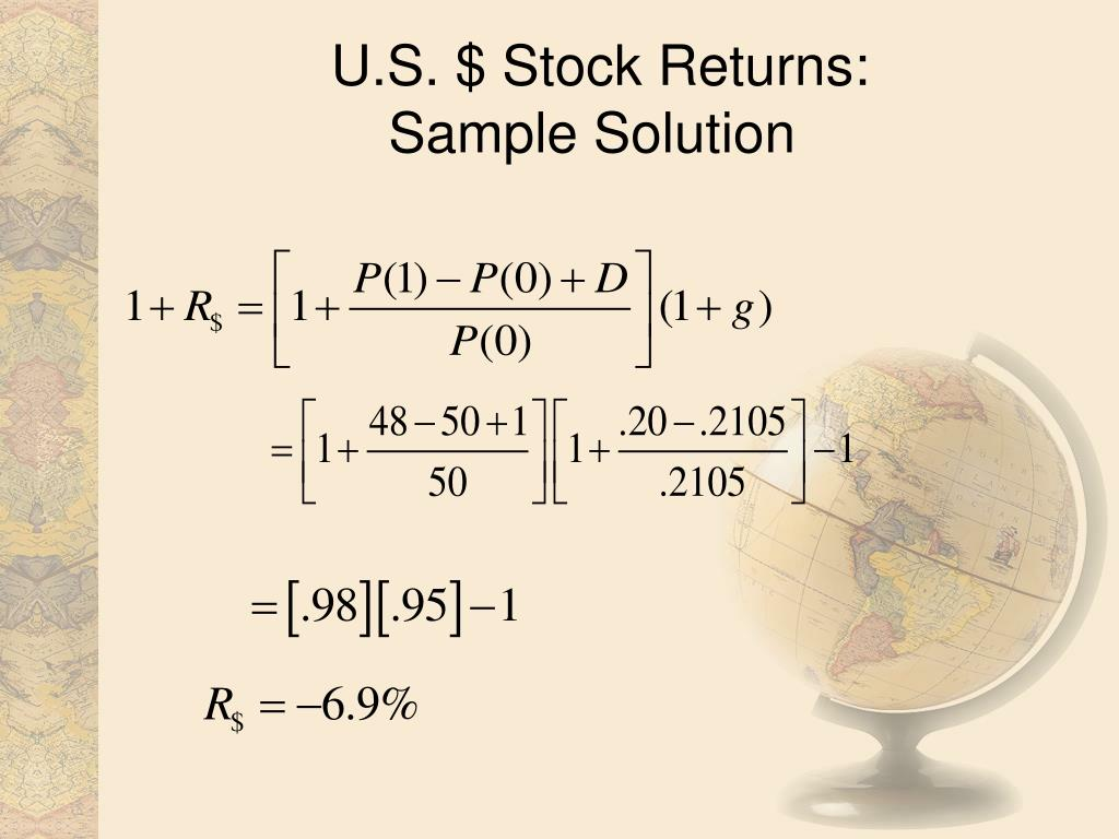 U.S. $ Stock Returns: