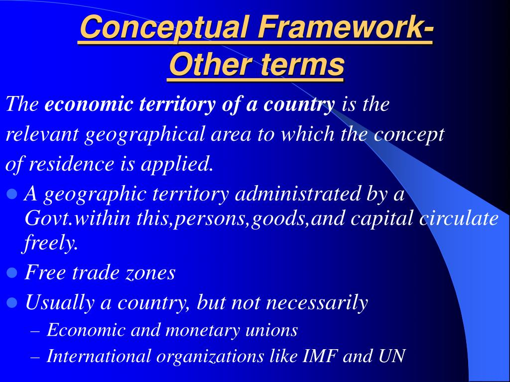 Conceptual Framework-Other terms