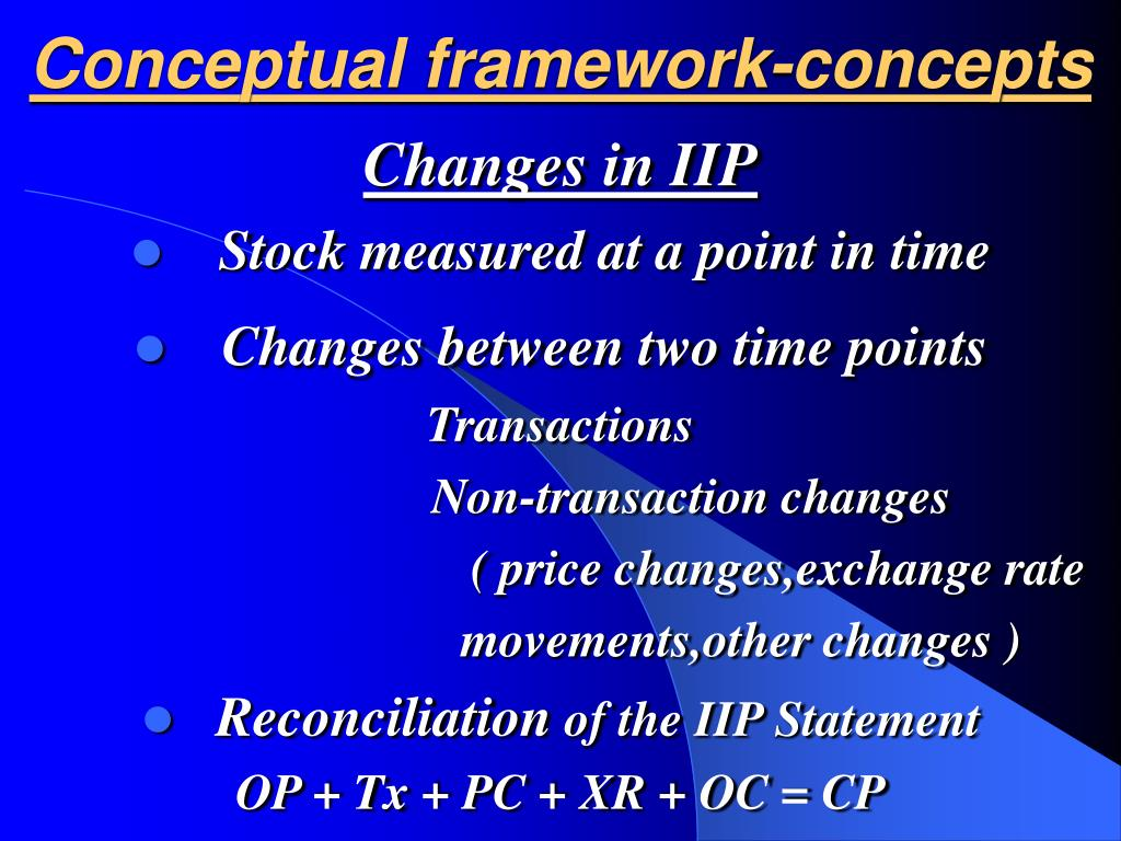 Conceptual framework-concepts