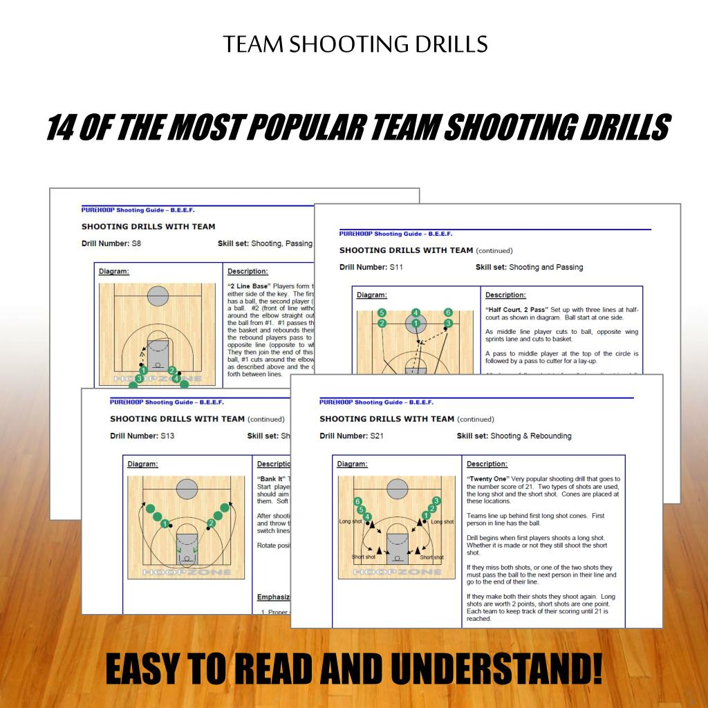 TEAM SHOOTING DRILLS