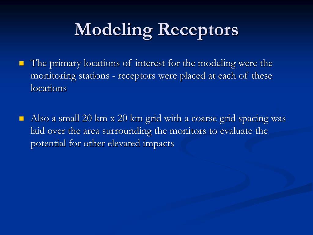 Modeling Receptors