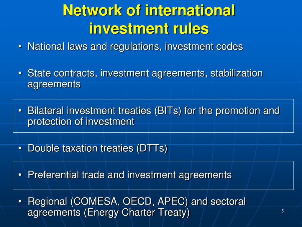 Network of international