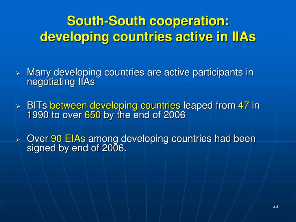 South-South cooperation: