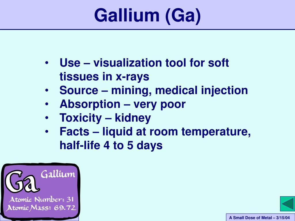 Gallium (Ga)