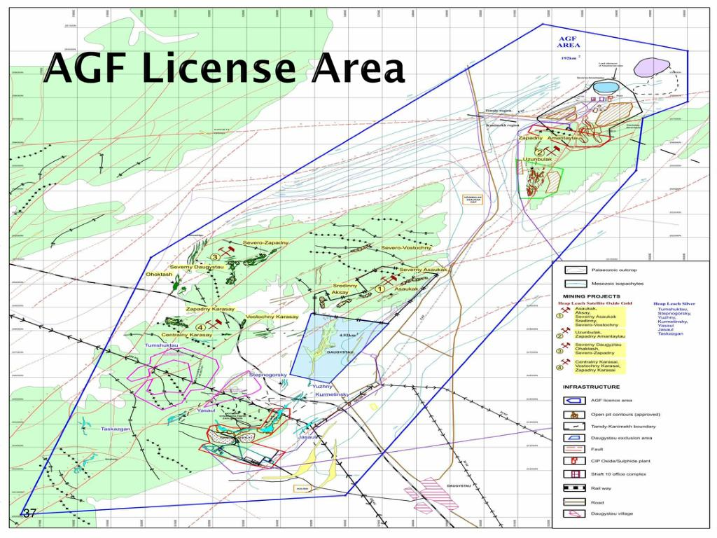 AGF License Area