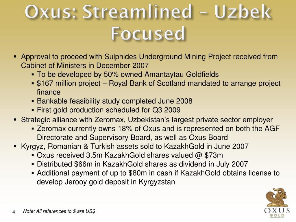 Oxus: Streamlined – Uzbek Focused