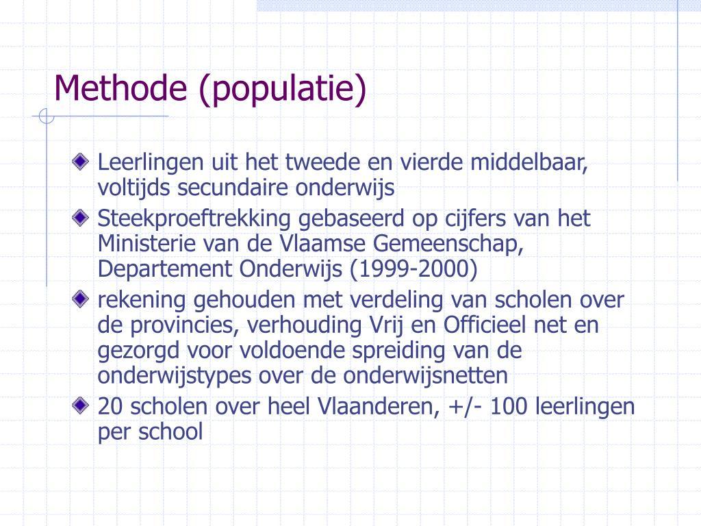 Methode (populatie)