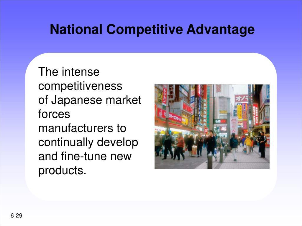 National Competitive Advantage
