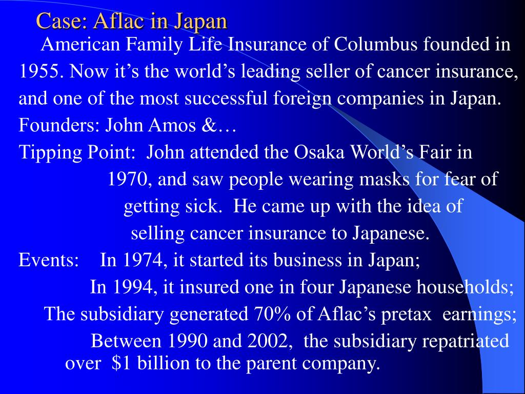Case: Aflac in Japan