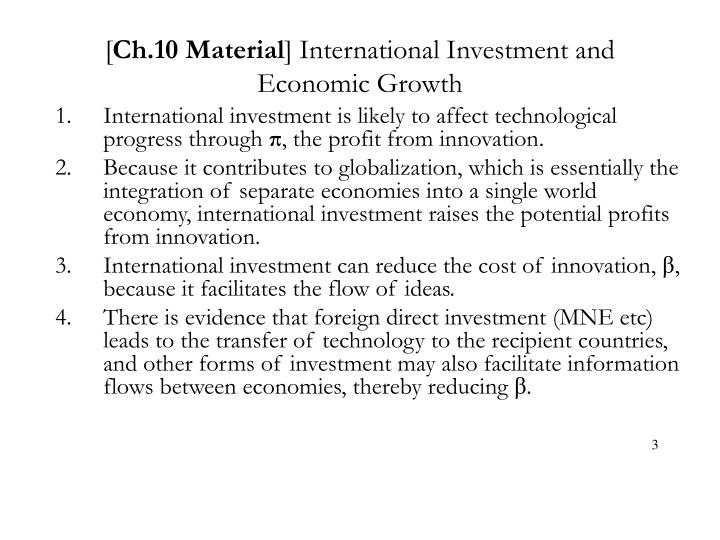 Ch 10 material international investment and economic growth3