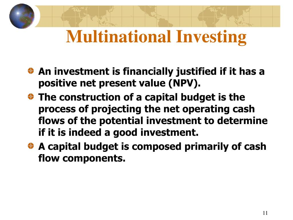 Multinational Investing