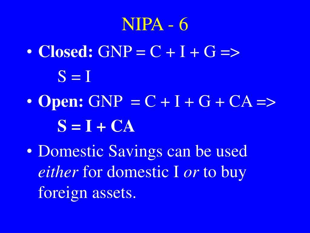 NIPA - 6
