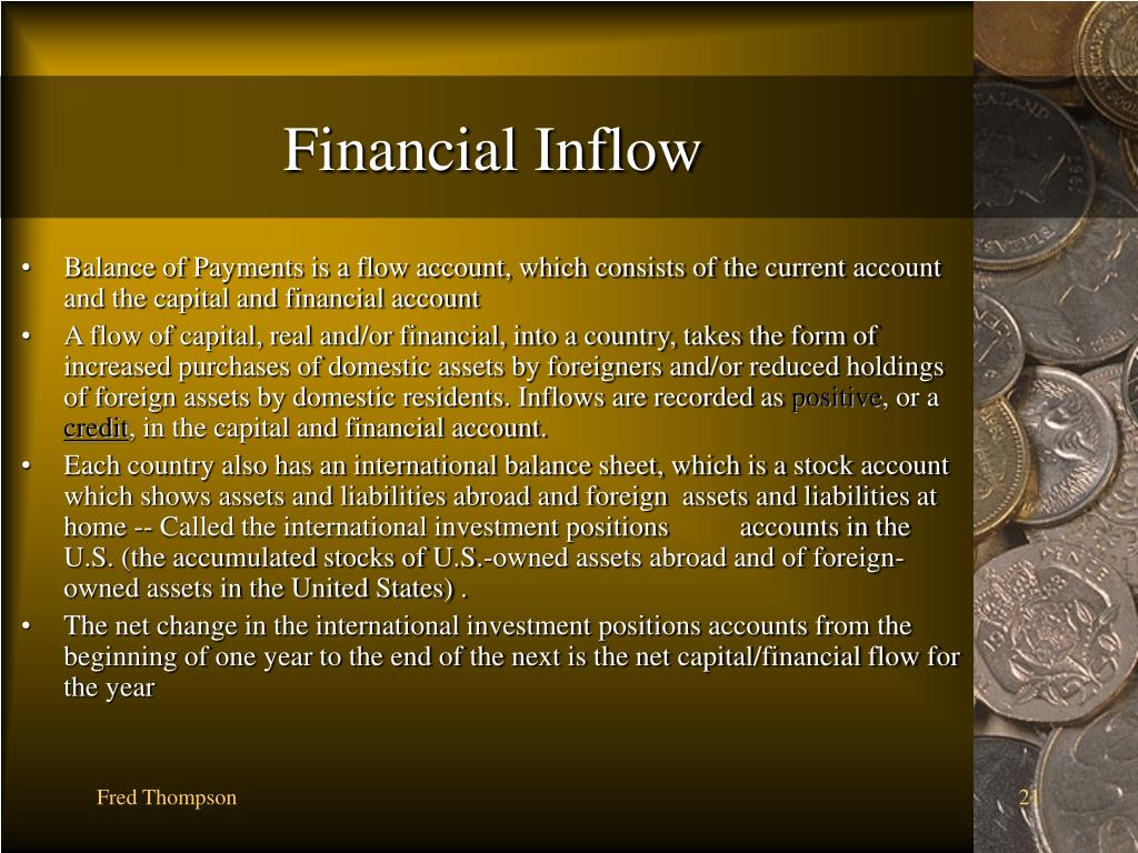 Financial Inflow