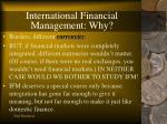 international financial management why10