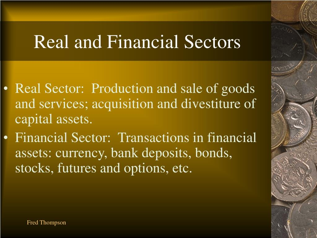 Real and Financial Sectors