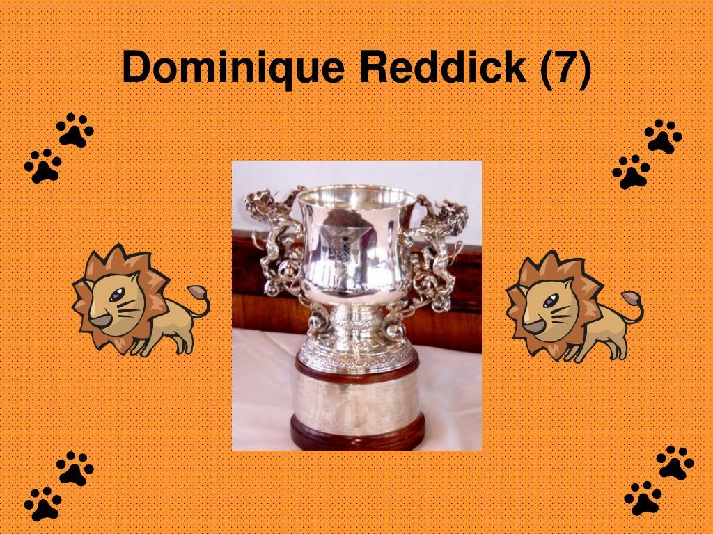 Dominique Reddick (7)