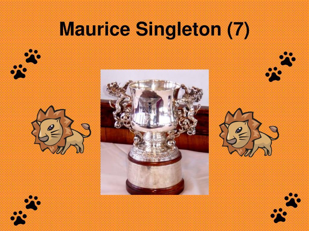 Maurice Singleton (7)