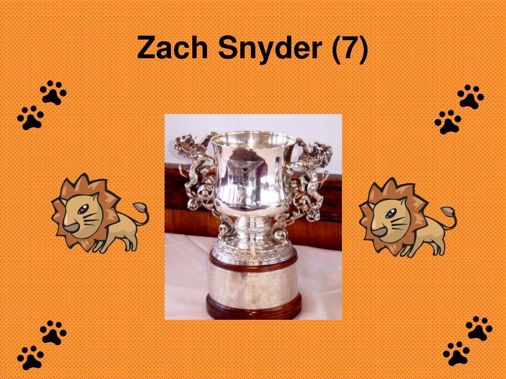 Zach Snyder (7)