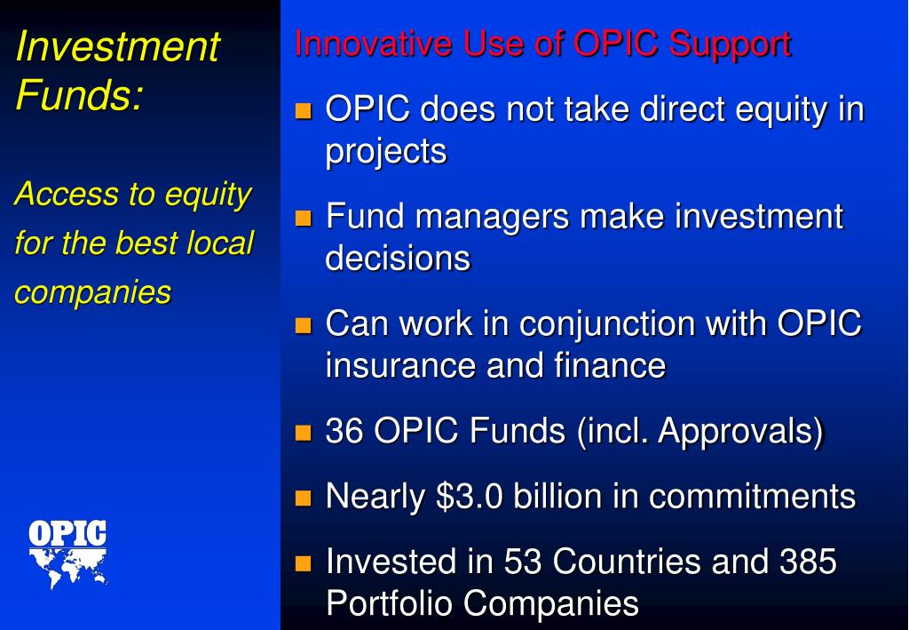 Investment Funds:
