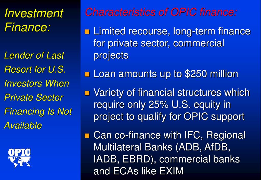 Investment Finance: