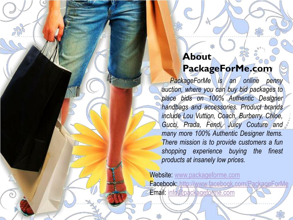 About PackageForMe.com