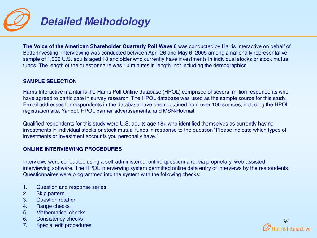 Detailed Methodology
