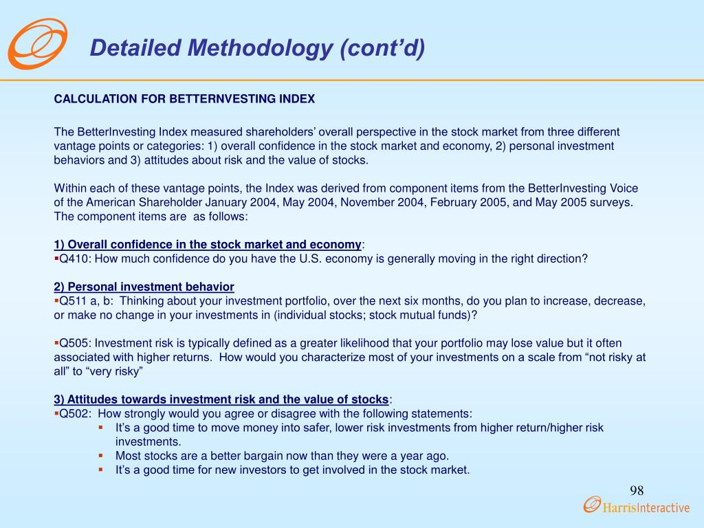 Detailed Methodology (cont'd)