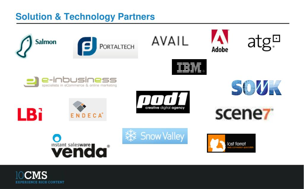 Solution & Technology Partners