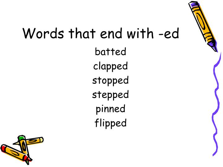Words that end with ed l.jpg
