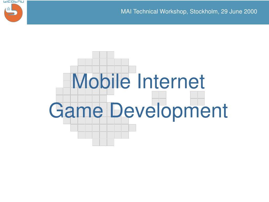 mai technical workshop stockholm 29 june 2000