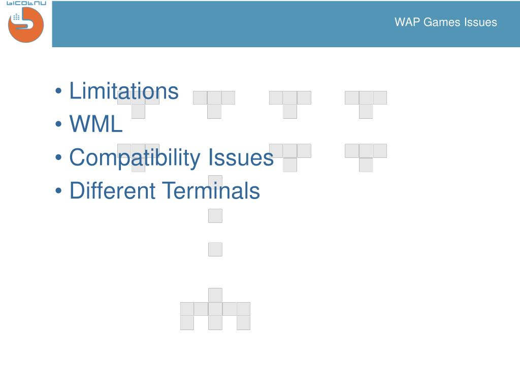 WAP Games Issues