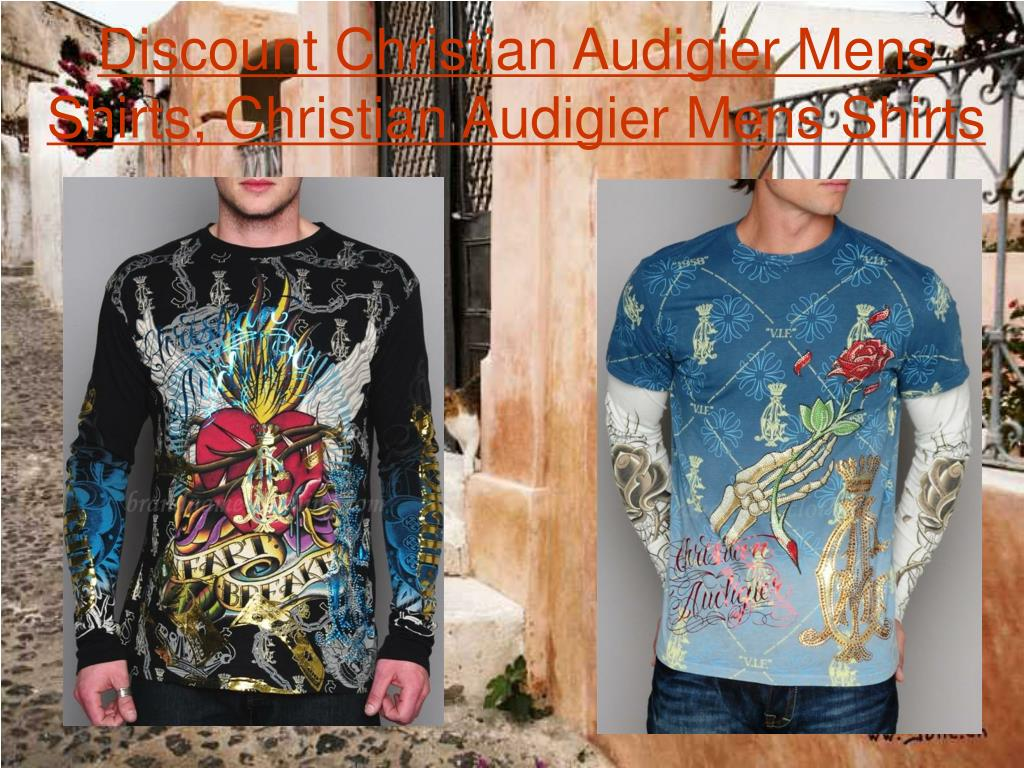 Discount Christian Audigier Mens Shirts, Christian Audigier Mens Shirts