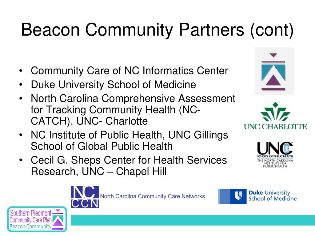 Beacon Community Partners (cont)