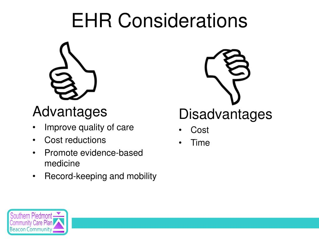 EHR Considerations