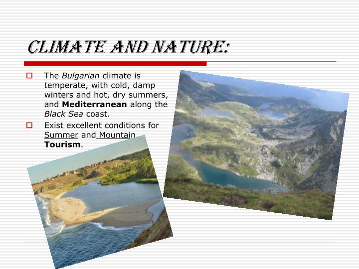 Climate and nature: