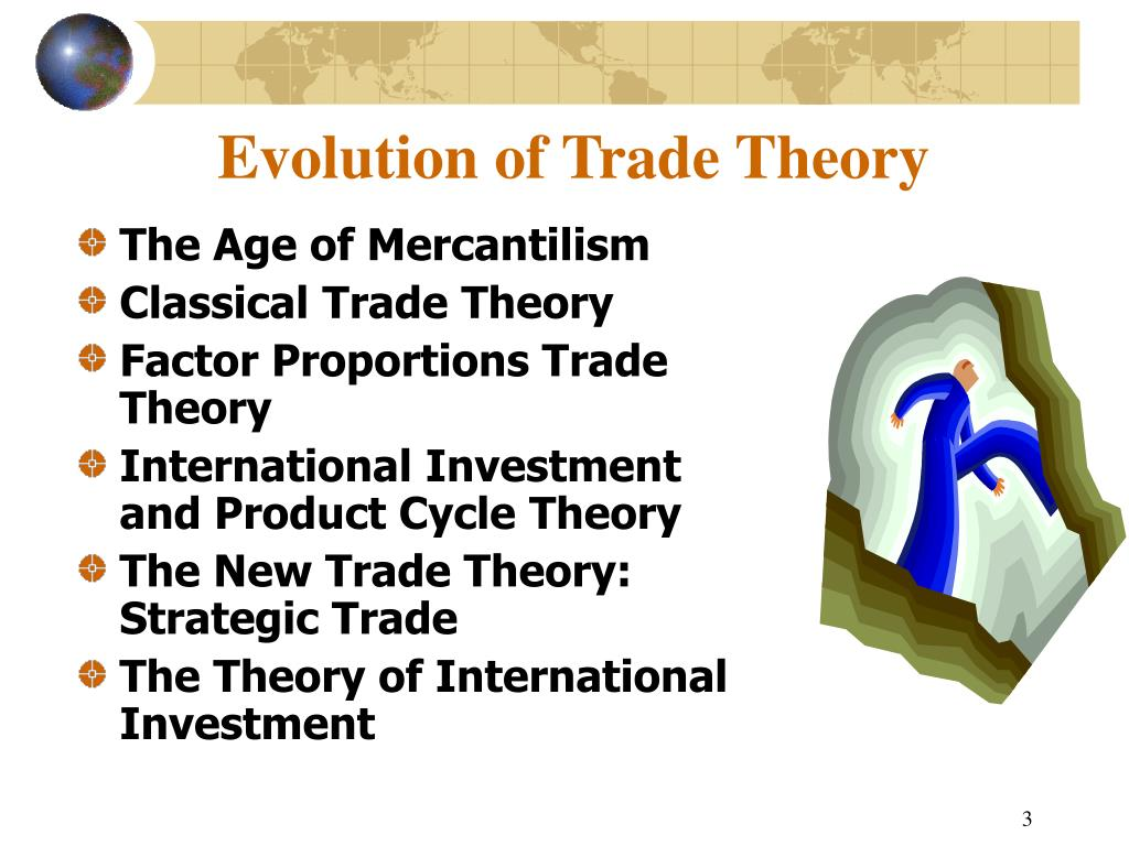 Evolution of Trade Theory