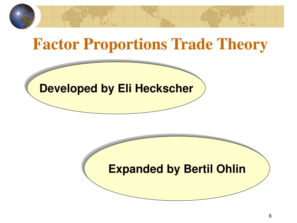 Factor Proportions Trade Theory
