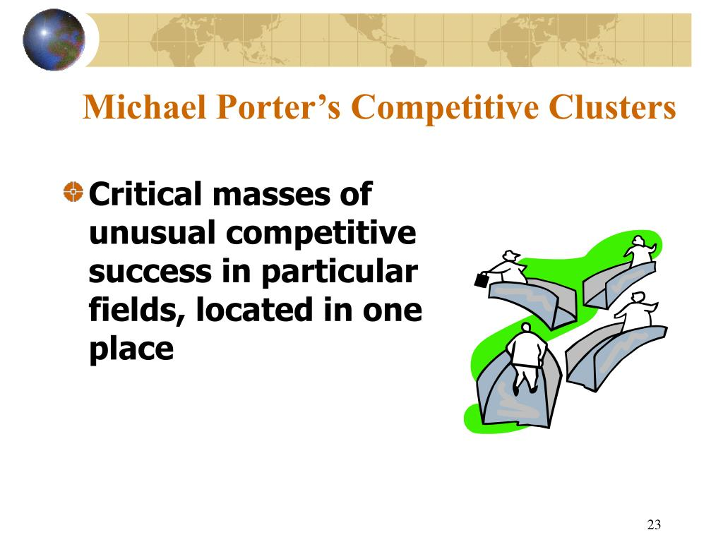 Michael Porter's Competitive Clusters