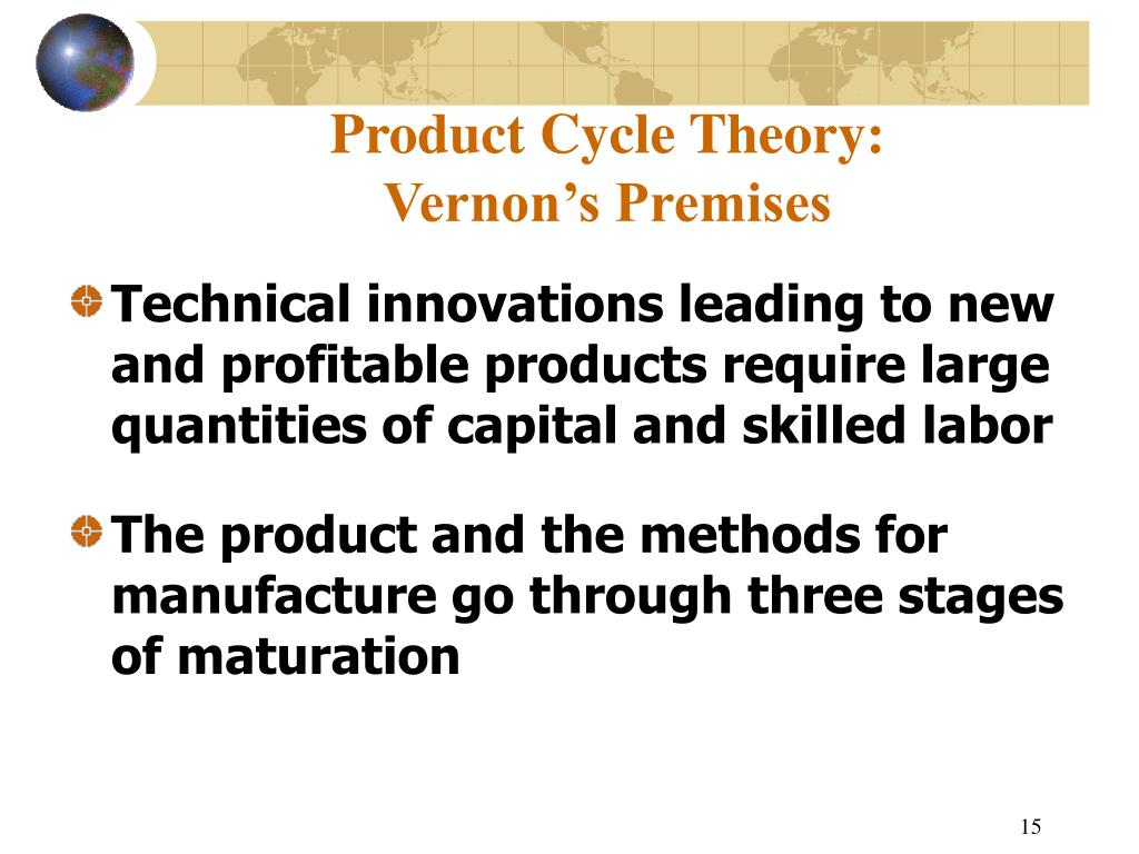 Product Cycle Theory: