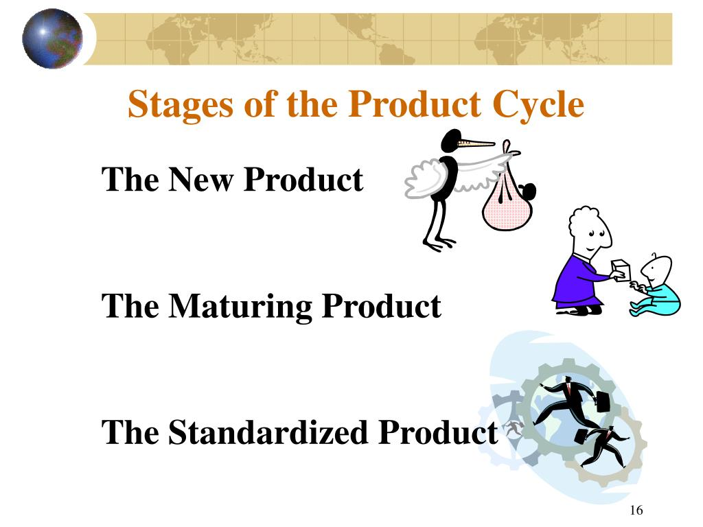 Stages of the Product Cycle