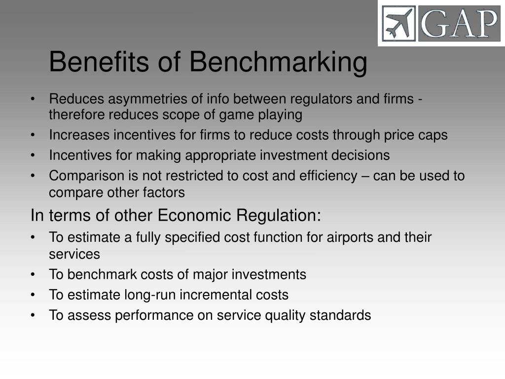 Benefits of Benchmarking