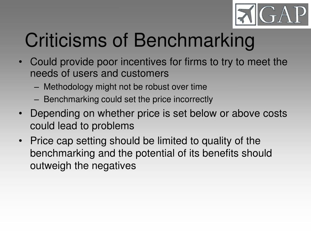 Criticisms of Benchmarking