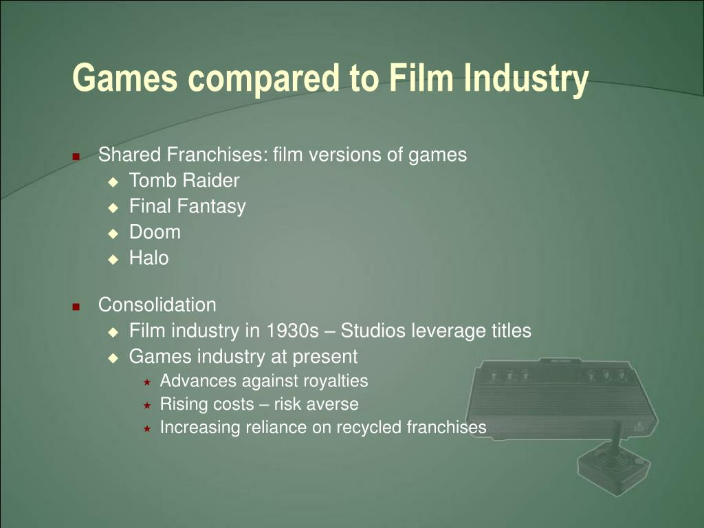 Games compared to Film Industry