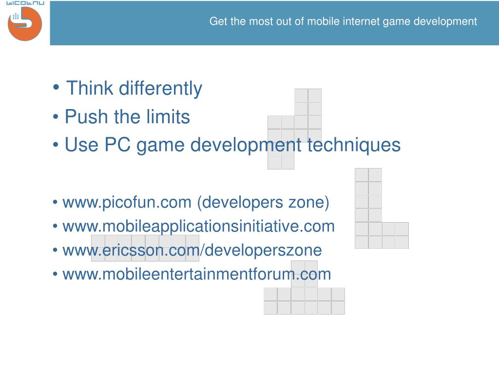Get the most out of mobile internet game development