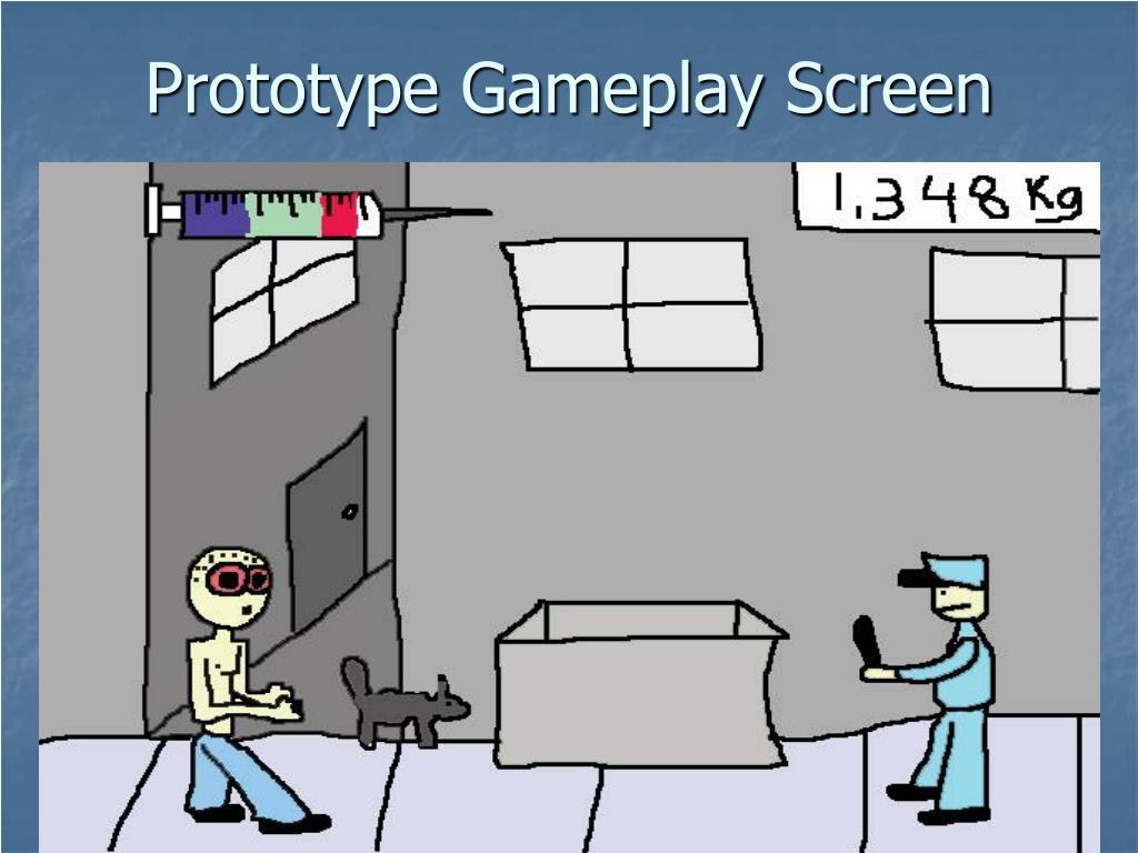 Prototype Gameplay Screen