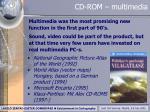 cd rom multimedia
