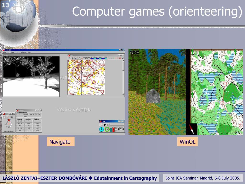 Computer games (
